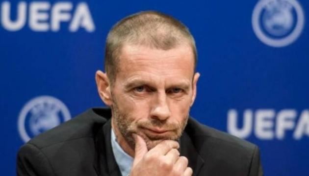 Футбольний сезон може бути втрачений - президент УЄФА