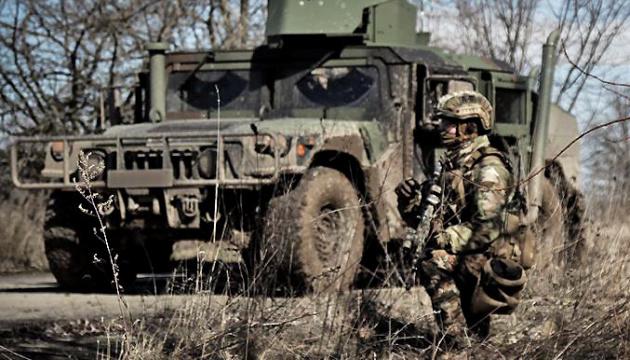 В зоне ООС оккупанты восемь раз нарушили «тишину», потерь нет