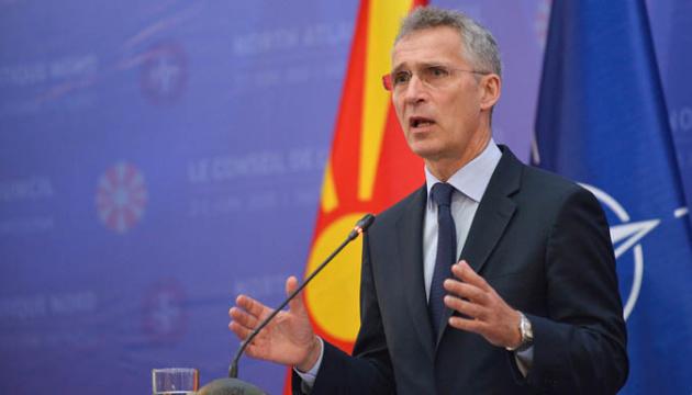Добра новина у важкі часи: Столтенберг прокоментував вступ Північної Македонії у НАТО