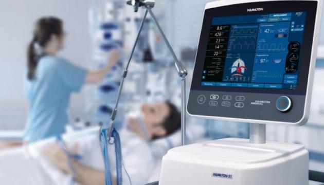 На Дніпропетровщину надійшли 8 сучасних апаратів штучної вентиляції легенів