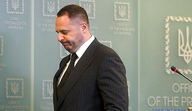 Jermak: Eine Reihe von Entscheidungen des Verfassungsgerichts löste politische Krise in der Ukraine aus
