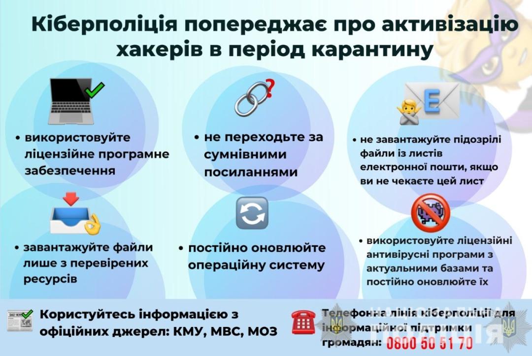 Хакери маскують свої атаки під розсилки про коронавіруси — Украинские новости
