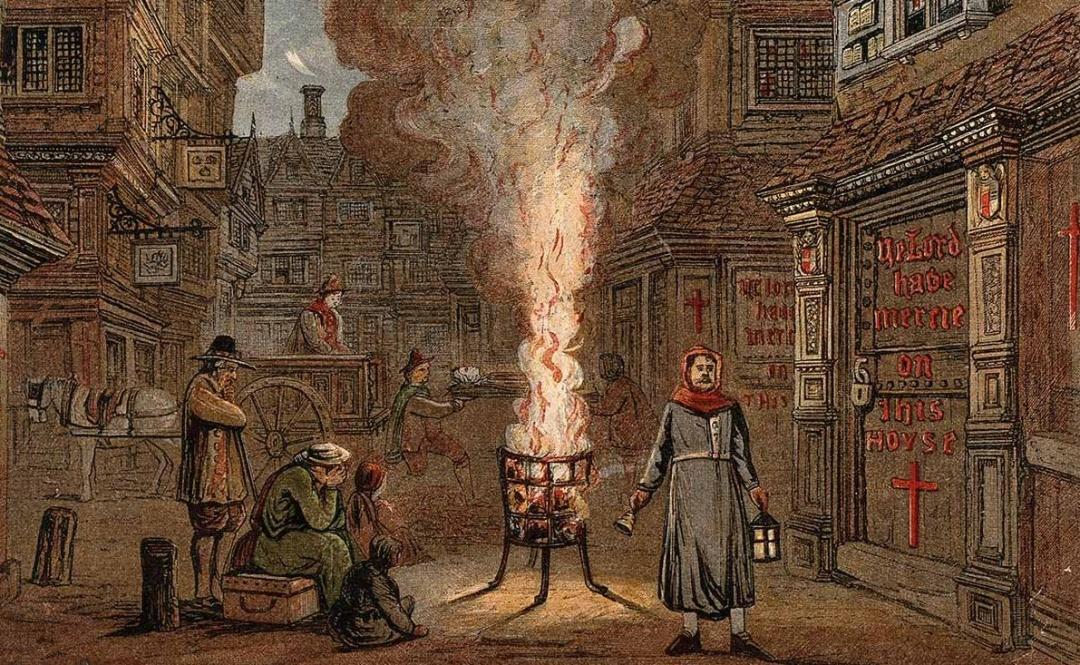 Контагіозність (заразність) з середньовічною чумою співставна, але ж ніяк не співставна смертність