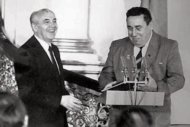 Микола Касьян і Михайло Горбачов