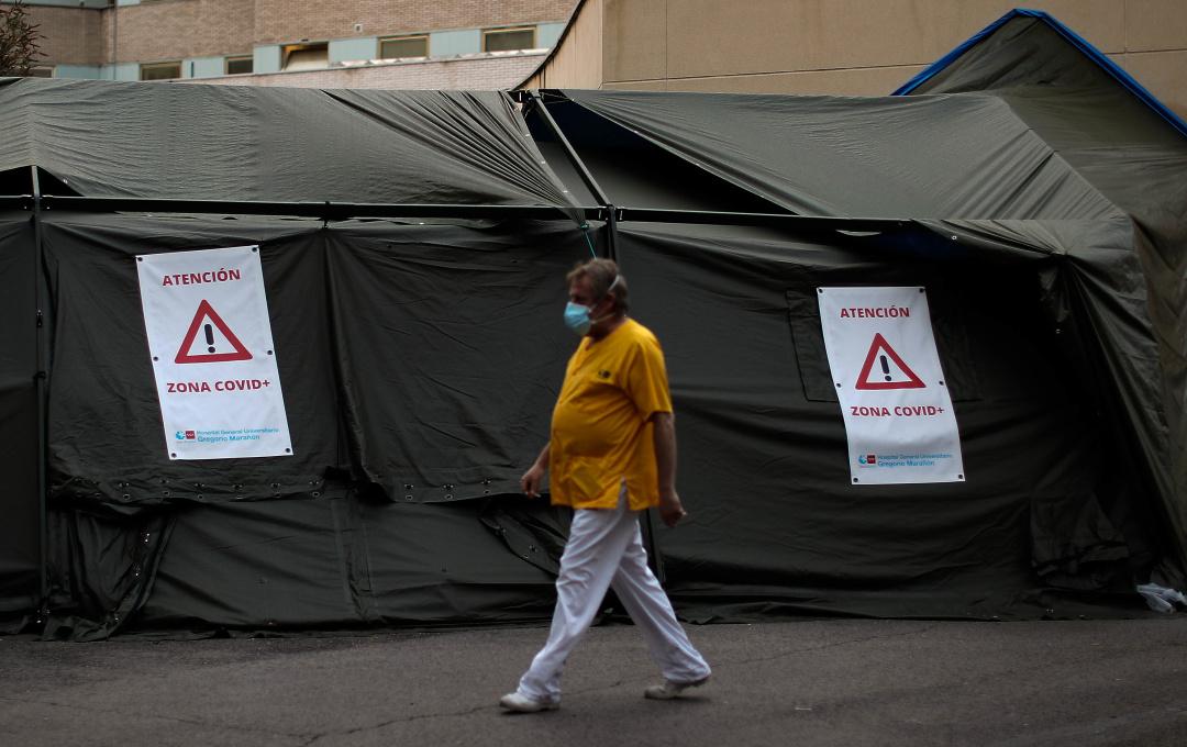 Іспанія була одним із епіцентрів пандемії в європейському регіоні