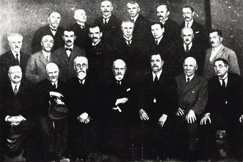 Професори УВУ.Прага. 1926 р.