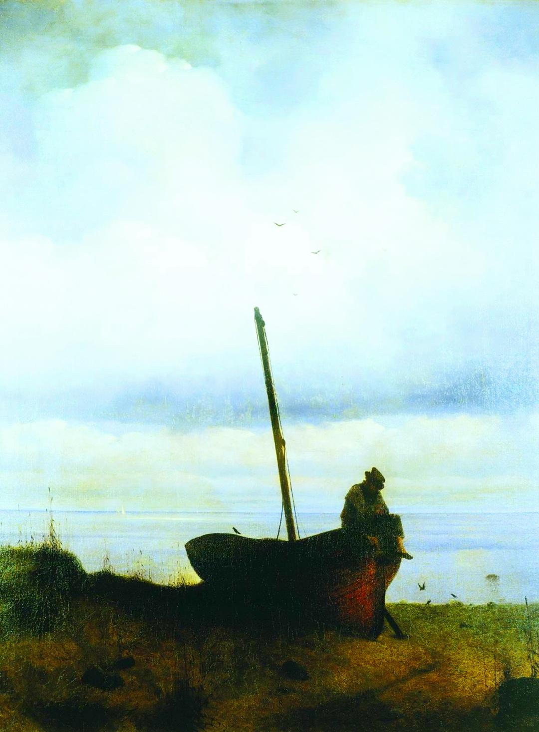 Вид на узмор'є в передмісті Петербургу, 1835р.