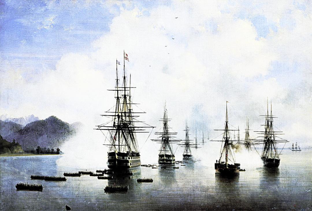 Десант загону М.М.Раєвського у долині Субаші, 1839 р.