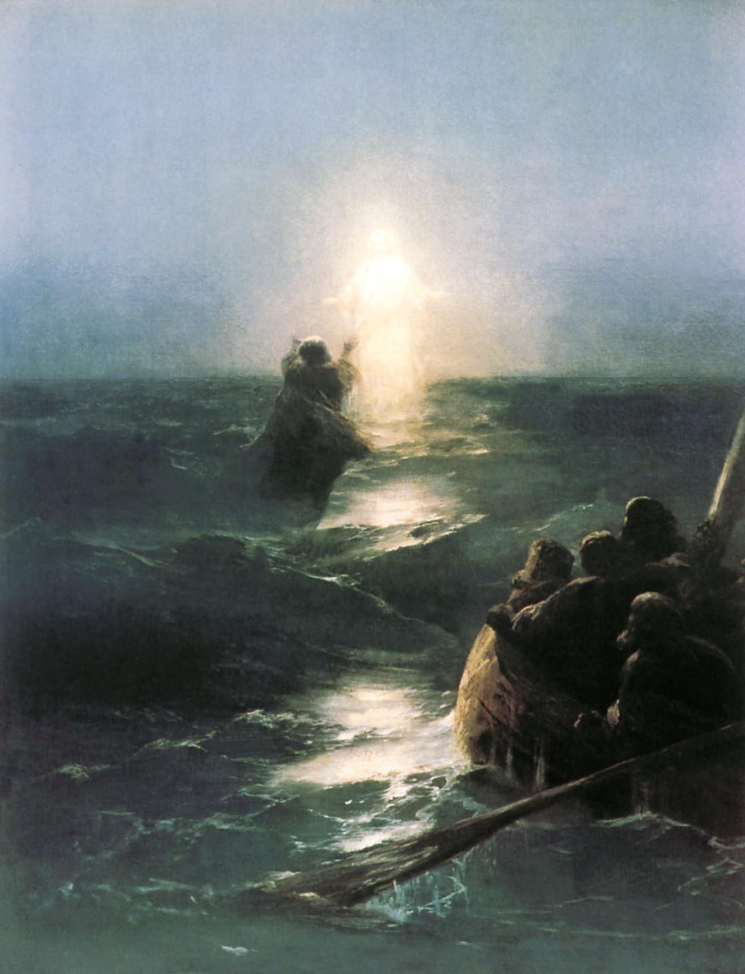Ходіння по водах, 1888 р.