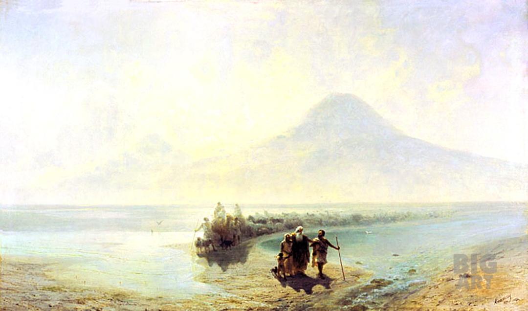 Ной спускається з гори Арарат, 1889 р. 1