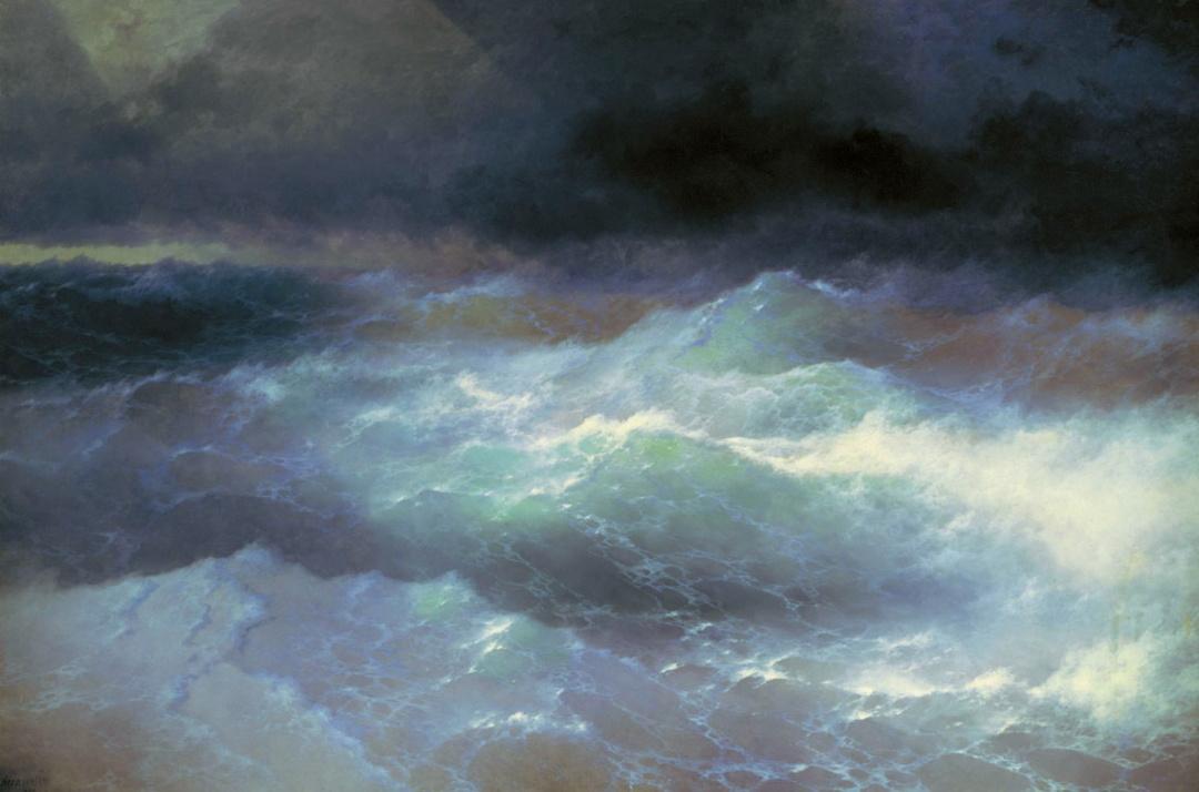 Серед хвиль, 1898 р. 1