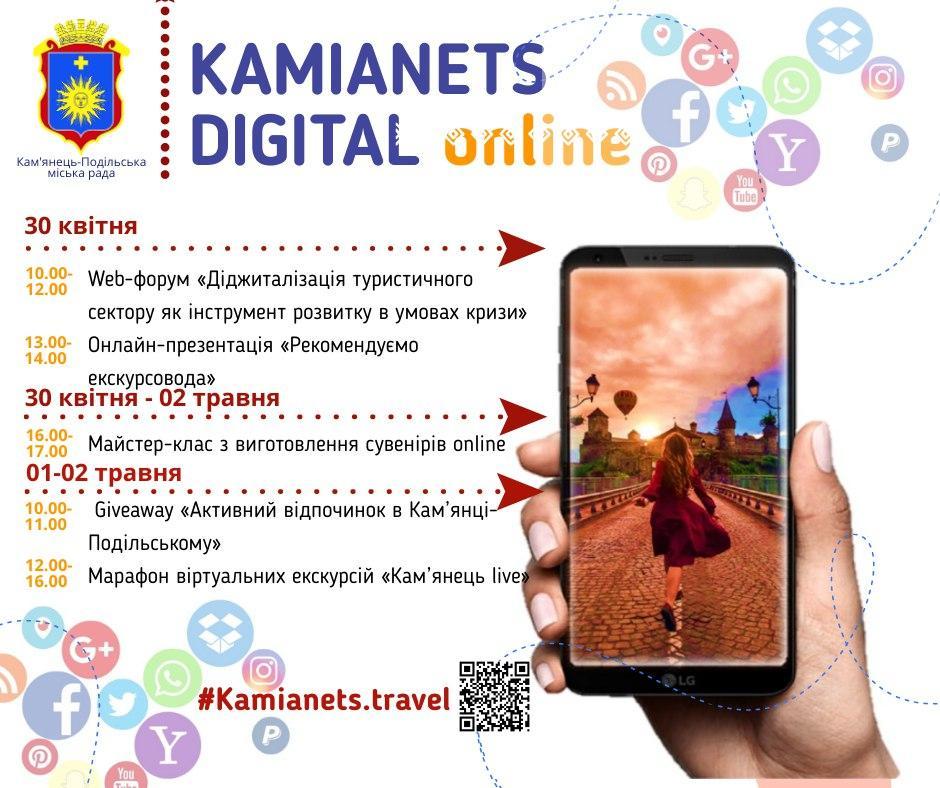 Новий сайт і марафон екскурсій: Кам'янець розповів, як віртуально відкриє турсезон