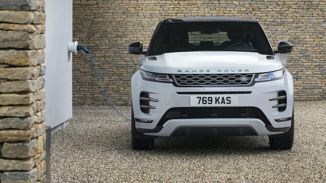 Land Rover представив два гібридні позашляховики