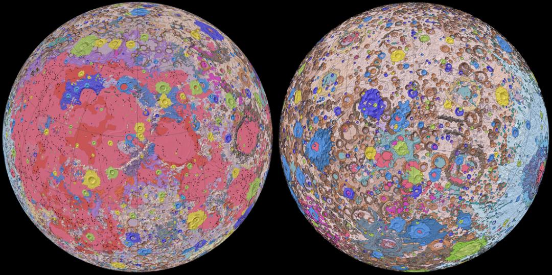 Учені вперше створили геологічну мапу Місяця