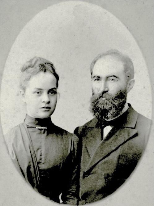 З дружиною, 1880-ті рр.