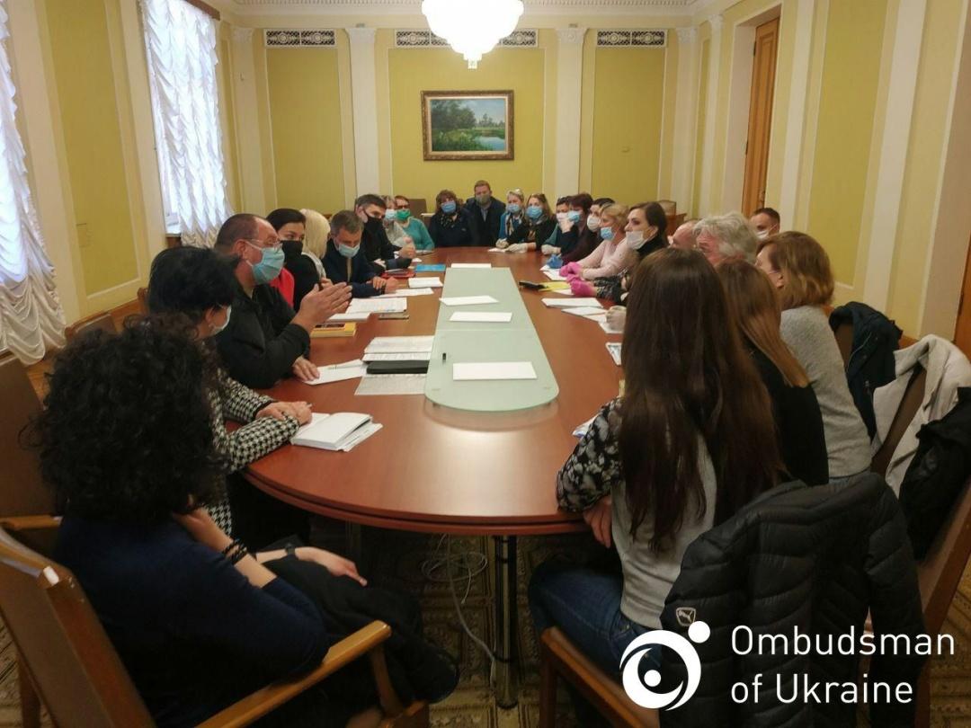 デニーソヴァ最高会議人権問題担当全権