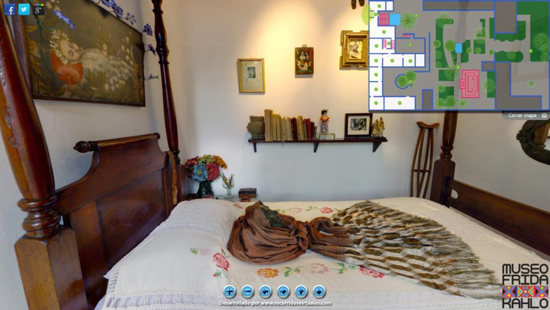 До «Блакитного будинку» Фріди Кало можна потрапити онлайн