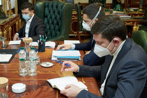 Zelensky holds meeting on safety of Ukrainians during Easter holidays