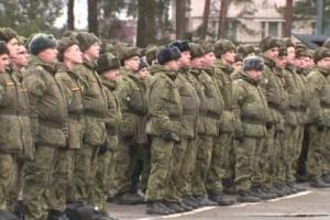 У Росії зібрали тисячі військових на підготовку до параду