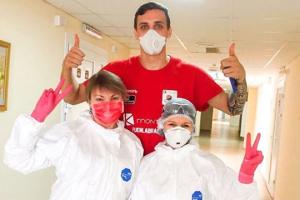 Баскетболіст збірної України Бобров переміг коронавірус і вже виписався з лікарні