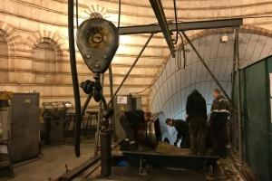 Киевское метро во время карантина ремонтирует эскалаторы