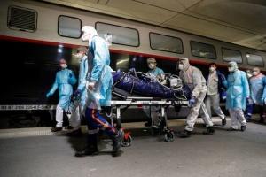 У Франції через коронавірус вперше в Європі застосовують санітарні потяги