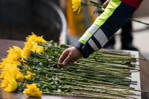 У Китаї вшанували пам'ять загиблих від коронавірусу