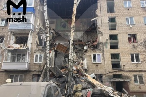 У Підмосков'ї через вибух газу обвалився під'їзд будинку: є загиблі
