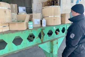 Прикордонники не дали вивезти з України антисептиків на 30 тисяч євро
