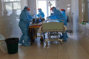 В Одеській інфекційній лікарні троє пацієнтів з діагнозом COVID-19 - у тяжкому стані