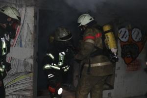 Пожежа на Хрещатику пошкодила кабелі Укртелекому