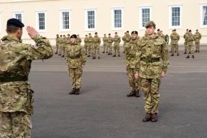 Українець став найкращим закордонним випускником Королівської військової академії в Сандгерсті