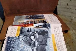 Вандали зруйнували на Майдані виставку, організовану Музеєм Революції Гідності