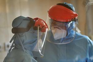 Ucrania suma 1.462 casos de COVID-19