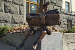 В Луцке снова похитили исторический символ города - статуэтку кликуна