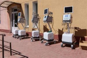 Одеська мерія закупила для інфекційної лікарні партію апаратів ШВЛ вартістю 9,6  мільйона