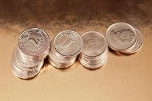 Hrywnja-Kurs gegenüber Dollar um 20 Kopeken gestiegen