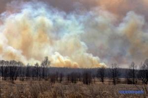 NASA показала масштабну пожежу під Чорнобилем з космосу