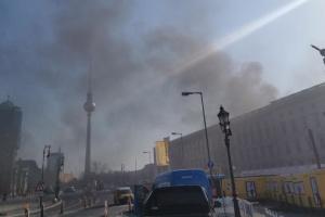 На будівельному майданчику Берлінського міського палацу стався вибух