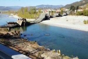 У італійському регіоні Тоскана обвалився міст