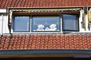 """У Нідерландах під час карантину """"полюють"""" на плюшевих ведмедиків у вікнах"""