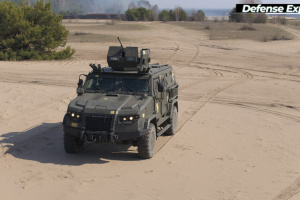 Ukrainian army gets armored vehicle Kozak-2M1