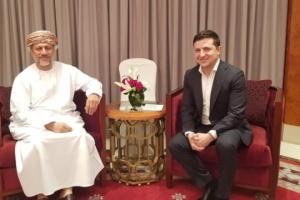 Поїздку Зеленського до Оману повністю оплатила його дружина – Банкова