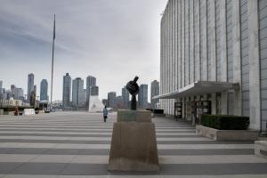 В ООН почтили память украинского военного наблюдателя