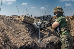 Шестеро бойцов ранены у Новомихайловки, еще один - вблизи Водяного