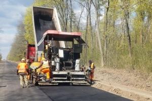В Украине за пять лет обещают почти 3000 километров цементобетонных дорог