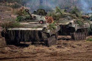 На Донбасі від початку доби - два обстріли, втрат немає