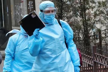 Ucrania suma 5.710 casos de COVID-19