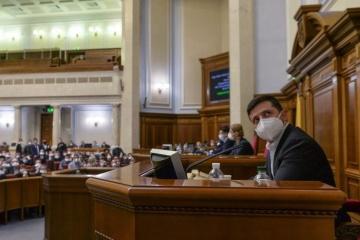 La semaine prochaine, Volodymyr Zelensky prononcera son message annuel à la Verkhovna Rada