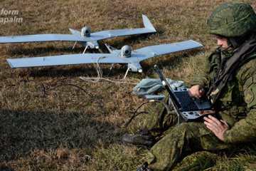 InformNapalm: Drone downed in Donbas in service with twelve Russian army units